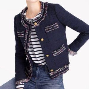 J. Crew Lady Blazer Jacket with Liberty® Trim 2